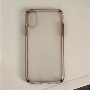 Clear Speck IPhone 10R case